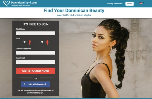 Dominican Cupid best Caribbean dating site international