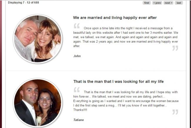 Testimonials Brazil Cupid review not scam real couples