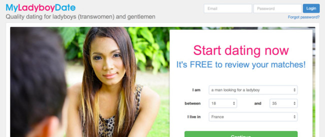 Best online transgender dating site to meet Asian ladyboys