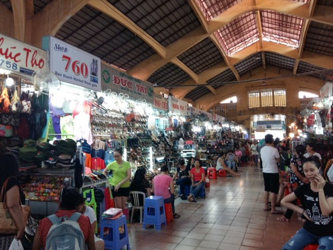 Binh Thanh Market District 1 Saigon expats