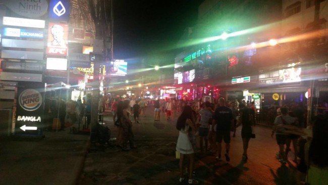 Soi Crocodile Phuket ladyboy go go bars nightlife