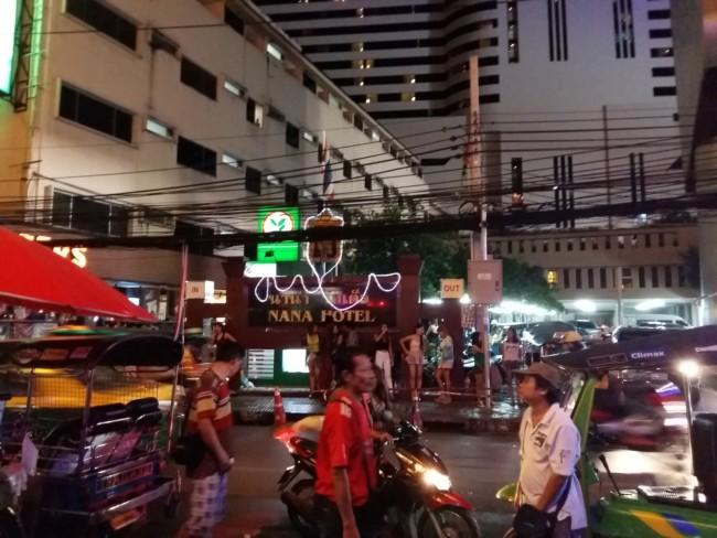 Nana Plaza Hotel Bangkok street girls prostitutes hookers