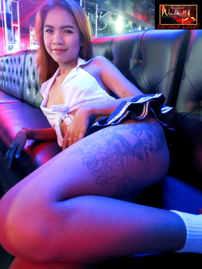 Fully nude Go Go in Pattaya with live sex shows Windmill