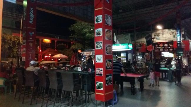 Golden Sorya Mall prostitute pick up bars Phnom Penh
