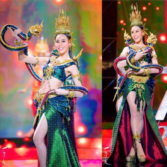 Sexy Thai ladyboys Miss Tiffany's trans beauty pageant