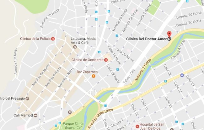 Review Clinica del Doctor Amor map location prices girls