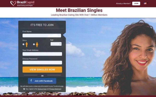Online dating sites for casual sex in Brazil