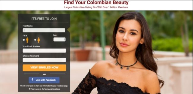 Online dating sites for casual sex in Colombia