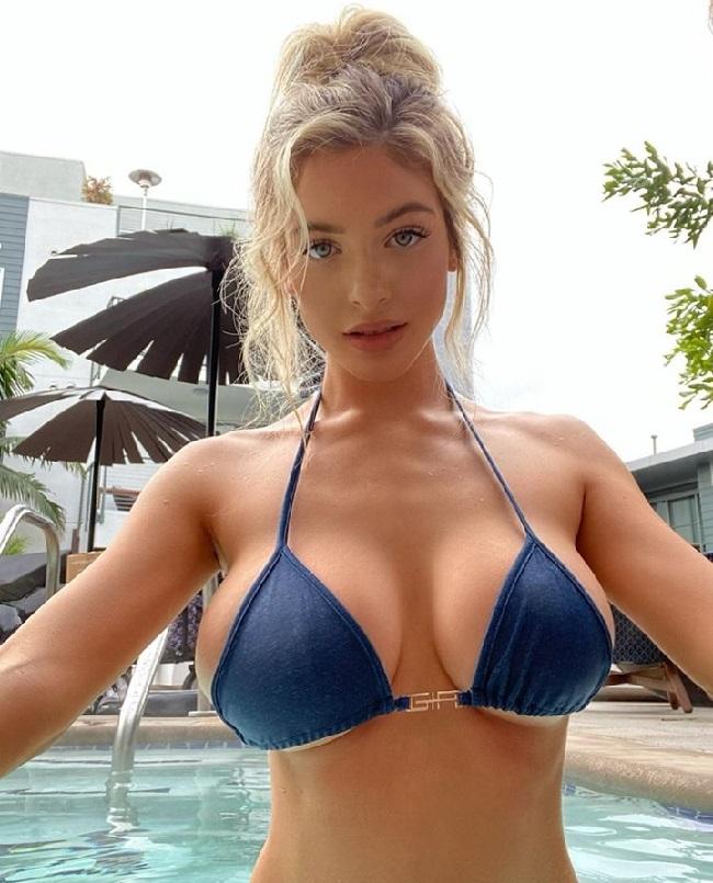 Big boobs Instagram model Hannah Palmer hot photo